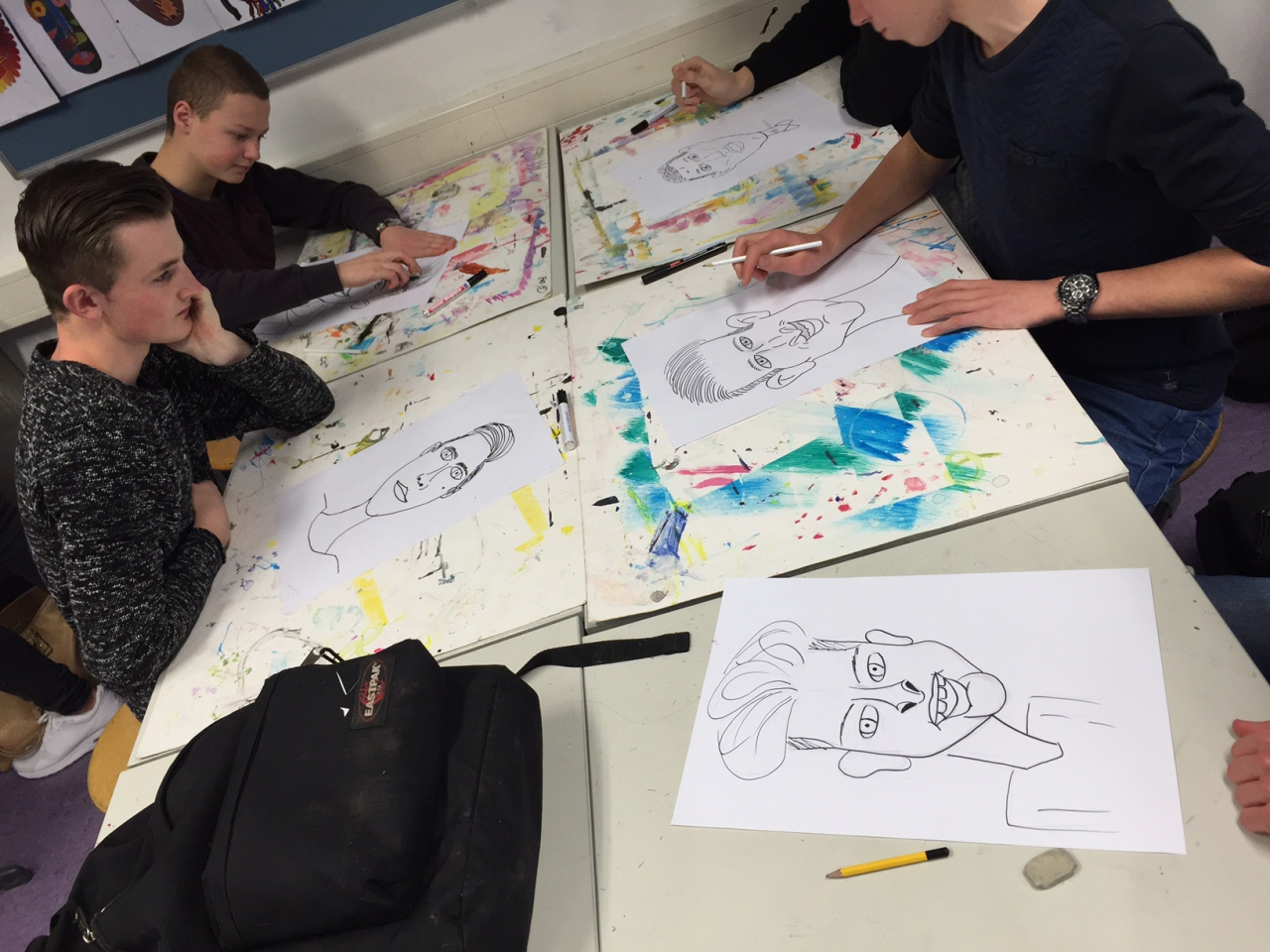 workshop karikatuur cartoon tekenen
